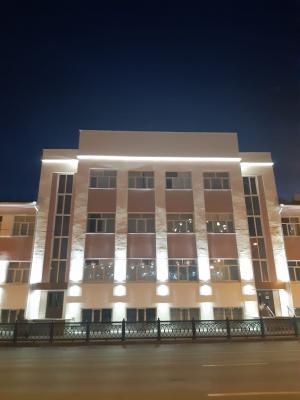 Освещение здания