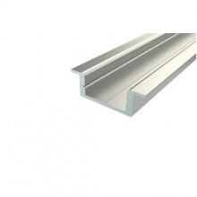 Профиль врезной алюминиевый LC-LPV-0722-2 Anod