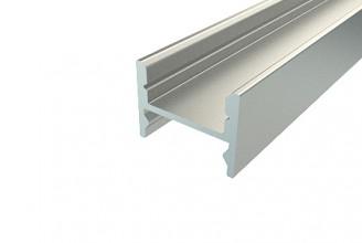 Профиль накладной алюминиевый LC-LPS-1216-2 Anod, 2м