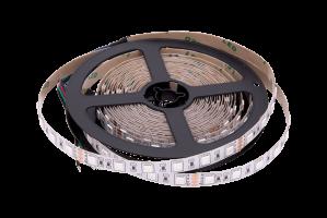 Лента светодиодная Белая 24В SMD5050 60Led 14,4Вт 6500К LS