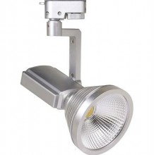 Светодиодный трековый светильник PRAG-12 12Вт 4200К Серебро
