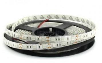 Лента светодиодная Белая 12В SMD 5050 60led 14,4Вт 6500К SWG
