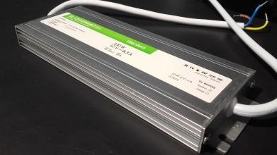 Блок питания 100Вт 24В IP67 алюминий SLIM