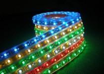Дюралайт (бухта) DL-2W13-RGB, 24LED/m, 13мм,RGB, 100м, цена за1м, фиксинг(2W), резка 2м