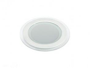 Свет-к с/д окантовка стеклом GLRL WH 12W D160 3000/4000/6000К