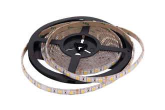 Лента светодиодная Белая 24В SMD5050 60Led 14,4Вт 6500К IP65 LS