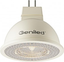 Светодиодная лампа Geniled GU5.3 MR16 8W 4200К/2700К