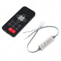 Диммер-контроллер одноцветный R-110 Mini RF 5A