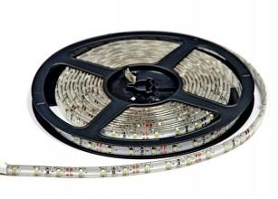 Лента светодиодная Зеленая 12В SMD 3528 герметичная 60led IP65 4,8Вт LS