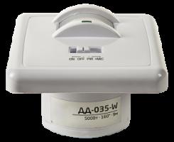 Датчик ASD движения инфракрасный оптико-акустический ДД-035-W 5000Вт 140 гр.12м IP20 белый ASD