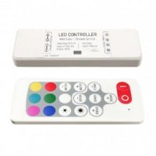 Контроллер RGB RF 5-24 В, 18A (6А*3), радио пульт, компакт NEW