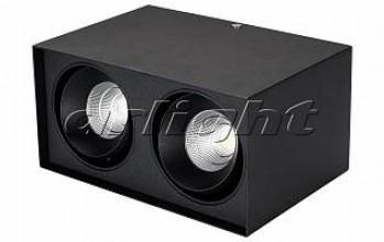 Светильник SP-CUBUS-S100x200BK-2x11W Warm White 40deg