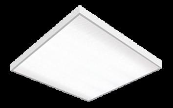 Панель LED LPU-ПРИЗМА- PRO 36Вт 6К 2800Лм 595*595*19мм белая IP40