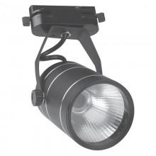 Трековый светодиодный светильник 9Вт, 4500К, черный