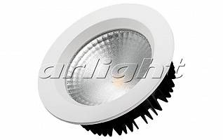 Светодиодный светильник LTD-145WH-FROST-16W White 110deg