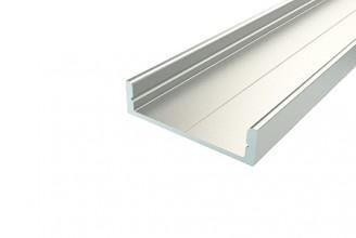 Профиль накладной алюминиевый LC-LP-0728-2 Anod, 2м