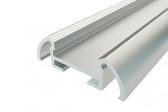Профиль алюминиевый для порогов LC-LP-0926-2 Anod 2000м