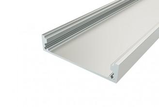 Профиль накладной алюминиевый LC-LP-1050-2 Anod, 2м