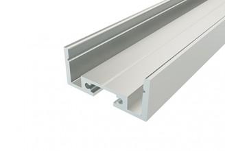 Профиль накладной алюминиевый LC-LР-1227-2 Anod