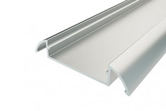Профиль алюминиевый для порогов LC-LPP-10536-2 Anod, 2м