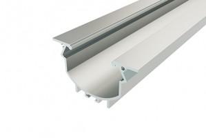 Профиль врезной алюминиевый LC-LPV-4849-2 Anod