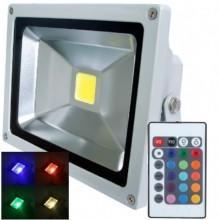 Прожектор светодиодный RGB 20W  IP65