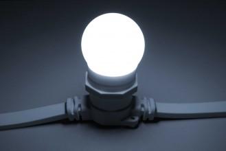 Лампа для Белт-лайта Е27 24В, 2 Вт, d=45 мм, БЕЛАЯ Код: 029810