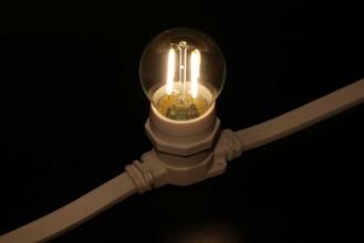 Лампа для Белт-лайта Е27 2 Вт, ФИЛАМЕНТ, ТЁПЛ.БЕЛАЯ Код: 029808