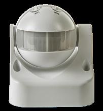 Датчик движения инфракрасный ДД-009-W 1200Вт.12м IP44 белый