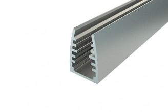 Профиль алюминиевый для стекла LC-LPG-1318-2
