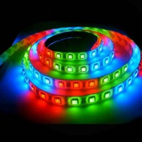 Лента светодиодная RGB 12В SMD 5050 60led 14,4Вт SWG
