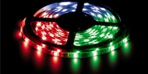 Лента светодиодная RGB 12В SMD 5050 30led 7,2Вт LS