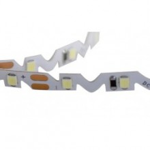 Лента светодиодная S-форма SMD 2835/60диодов/1100Лм/12Вт на метр 6500К
