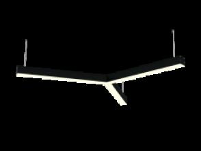 Светильник 26W Белый дневной 0510313 Star XS 4K (26/416) 220V IP20 Y-образный универсальный черный