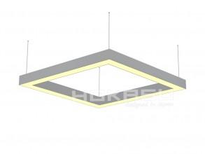 Светильник 64W Белый теплый 0510108 Frame W 3K (64/625x625) 220V IP20 четырехугольный универсальный белый