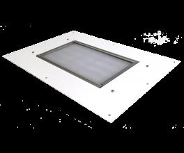 Светильники светодиодные уличные серии NR AZS 100Вт, 10400 Лм, 540х540х72