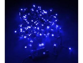 Гирлянда с/д уличная Синий УМС 10м 220В с контроллером 3Вт 100Led IP44