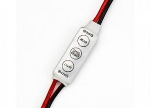 Диммер для одноцветной ленты 12V 72W 3 кнопки