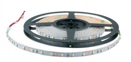 Лента светодиодная Белая-теплая 12В 4,8Вт/м SMD 3528 60led 3000К LS
