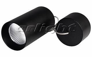 Светильник подвесной SP-POLO-R85-2-15W Day White 40deg (Black, Black Ring)