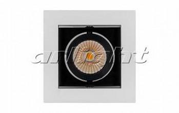 Светильник CL-KARDAN-S102x102-9W White (WH-BK, 38 deg)