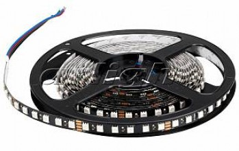 Лента RT 2-5000 24V RGB 3X (5060, 420 LED, BLACK)