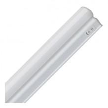 Линейный светодиодный LED светильник 8W 4000K 572мм с датчиком движения