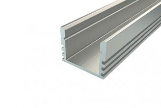 Профиль накладной алюминиевый LC-LP-1216-2 Anod, 2м