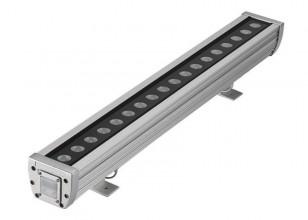Линейный фасадный светильник LС 12 Ватт 500 мм Теплый белый