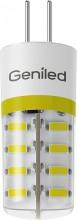 Светодиодная лампа G9 6W 2700/4200К 220V