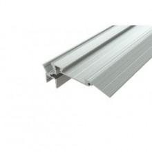 Профиль алюминиевый для ступеней без резиновой вставки LC-PDS-1867-2 Anod