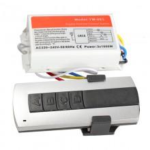 Пульт дистанционного управления с контроллером 220В 4-х зонный 4 канала