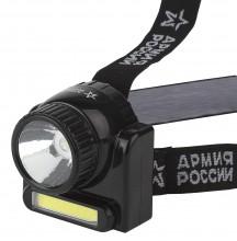 Светодиодный головной фонарь 3Вт Ближний и Дальний свет
