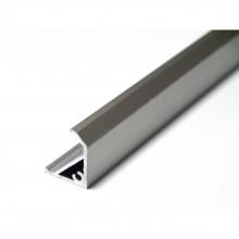 Профиль угловой алюминиевый витринный LU-SK-835